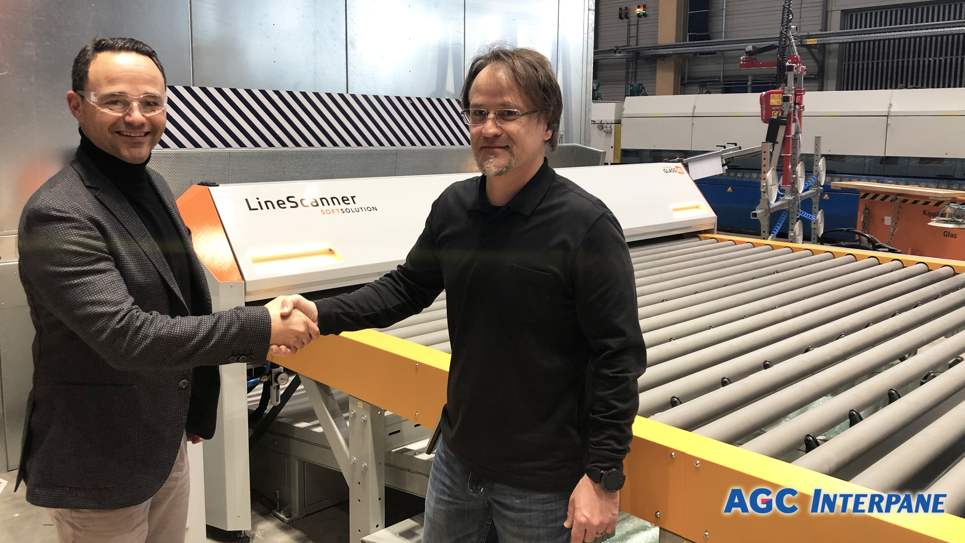 AGC-Interpane Plattling relies on LineScanner for anisotropy testing by SOFTSOLUTION