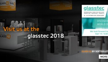 Glass in check: the all-in-one LineScanner at the glasstec trade fair in Düsseldorf