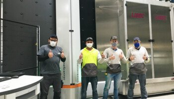 Saint-Gobain Hasselt uses LineScanner for glass quality control